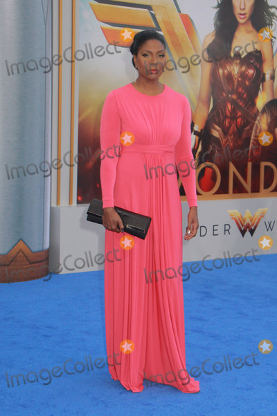 Jacquie Lee Photo - Jacqui-Lee Pryce 5252017 World Premiere of Wonder Woman held at the Pantages Theater in Los Angeles CA Photo by Julian Blythe  HollywoodNewsWireco