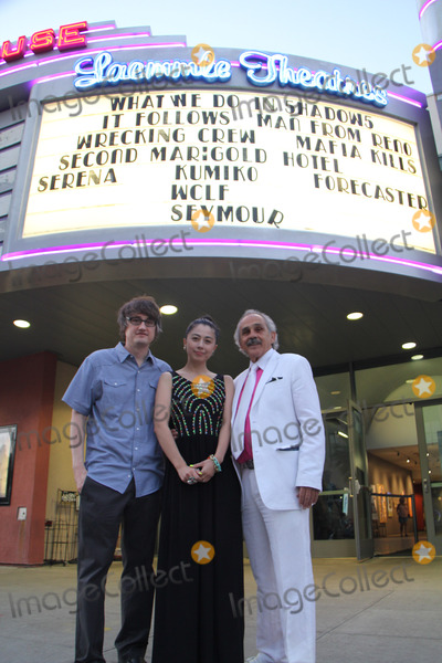 Ayako Fujitani Photo - Ayako Fujitani Dave Boyle Pepe Serna 03272015 Man from Reno Opening night photo call held at Laemmle Playhouse 7 in Pasadena CA Photo by Izumi Hasegawa  HollywoodNewsWirenet