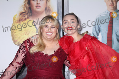 Rebel Wilson Photo - Rebel Wilson Miley Cyrus 02112019 The World Premiere of Isnt It Romantic held at the Theatre at Ace Hotel in Los Angeles CA Photo by Izumi Hasegawa  HollywoodNewsWireco