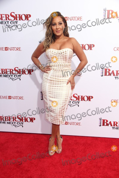 Adrienne Bailon Photo - Adrienne BailonLoni LoveJeannie Mai 04062016 The Premiere of gBarbershop The Next Cuth held at The TCL Chinese Theatre in Los Angeles CA Photo by Izumi Hasegawa  HollywoodNewsWireco