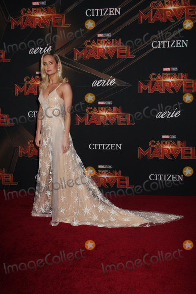 Brie Larson Photo - Brie Larson 03042019 The World Premiere of Captain Marvel held at the El Capitan Theatre in Los Angeles CA Photo by Izumi Hasegawa  HollywoodNewsWireco