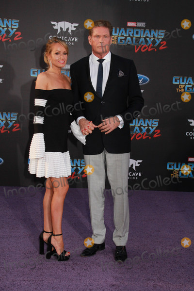 Hayley Roberts Photo - Hayley Roberts David Hasselhoff 04192017 The World Premiere of Guardians of the Galaxy Vol2 held at The Dolby Theatre in Hollywood CA Photo by Izumi Hasegawa  HollywoodNewsWireco