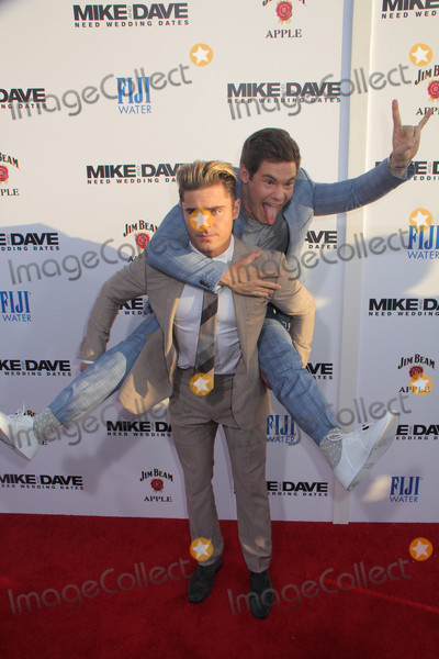 Adam DeVine Photo - Zac Efron Adam Devine 06292016 Mike and Dave Need Wedding Dates Special Screening held at The Arclight Cinerama Dome in Hollywood CA Photo by Izumi Hasegawa  HollywoodNewsWireco