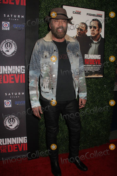 Nicolas Cage Photo - Nicolas Cage 09162019 Running with the Devil premiere held at Writers Guild Theater in Beverly Hills CAPhoto by Izumi Hasegawa  HollywoodNewsWireco