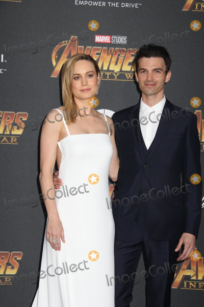 Brie Larson Photo - Brie Larson Alex Greenwald 04232018 The World Premiere of Avengers Infinity War held at Hollywood CA Photo by Izumi Hasegawa  HollywoodNewsWireco