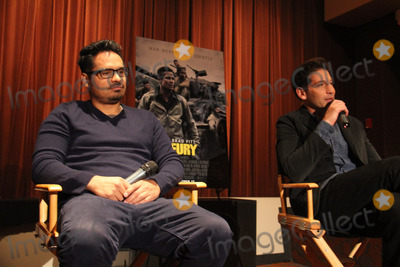 Michael Pena Photo - Michael Pena Jon Bernthal 10102014 Press Conference of Fury held at Sony Pictures Studios in Culver City CA Photo by Izumi Hasegawa  HollywoodNewsWirenet