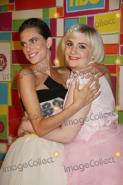 Lena Dunham Photo - Allison Williams Lena Dunham 08252014 The 66th Annual Primetime Emmy Awards HBO After Party held at the Pacific Design Center in West Hollywood CA Photo by Izumi Hasegawa  HollywoodNewsWirenet