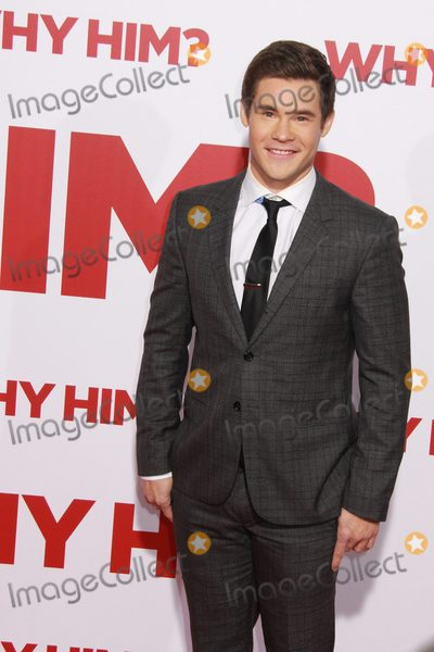 Adam DeVine Photo - Adam Devine 12172016 Why Him Premiere at the Fox Bruin Theater in Los Angeles CA Photo by Julian Blythe  HollywoodNewsWireco