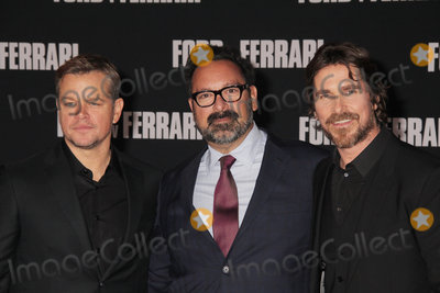 Christian Bale Photo - Matt Damon James Mangold Christian Bale 11042019 The Special Screening of Ford v Ferrari held at TCL Chinese Theater in Los Angeles CA  Photo by Izumi Hasegawa  HollywoodNewsWireco