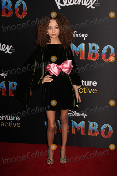 Nico Parker Photo - Nico Parker 03112019 The World Premiere of Dumbo held at the El Capitan Theatre in Los Angeles CA Photo by Izumi Hasegawa  HollywoodNewsWireco
