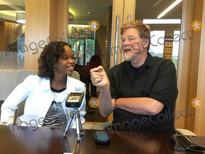 Roger Allers Photo - Quvenzhane Wallis Roger Allers 07292015 Kahlil Gibrans The Prophet Photocall held at Participant Media in Beverly Hills CA Photo by Izumi Hasegawa  HollywoodNewsWirenet