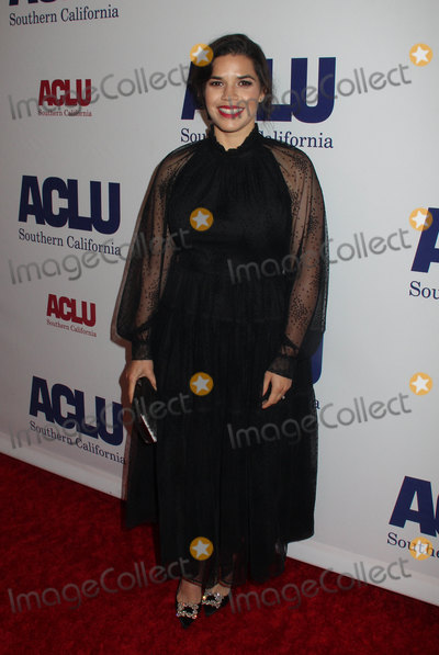 AMERICA FERRARA Photo - America Ferrara 11112018 The ACLU SoCals Annual Bill of Rights Dinner held at The Beverly Wilshire Hotel in Beverly Hills CA Photo by Hiro Katoh  HollywoodNewsWireco