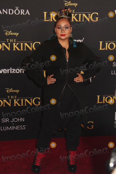 Raven- Symone Photo - Raven-Symone 07092019 The Lion King Premiere held at Dolby Theatre in Hollywood CA Photo by Kazuki Hirata  HollywoodNewsWireco