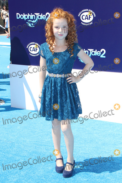 Francesca Capaldi Photo - Francesca Capaldi 09072014 Dolphin Tale 2 Premiere held at the Regency Village Theatre in Westwood CA Photo by Kazuki Hirata  HollywoodNewsWirenet