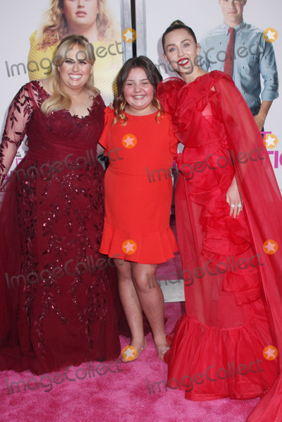 Alex Kis Photo - Rebel Wilson Alex Kis Miley Cyrus 02112019 The World Premiere of Isnt It Romantic held at the Theatre at Ace Hotel in Los Angeles CA Photo by Izumi Hasegawa  HollywoodNewsWireco