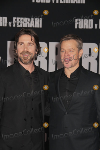 Christian Bale Photo - Christian Bale Matt Damon 11042019 The Special Screening of Ford v Ferrari held at TCL Chinese Theater in Los Angeles CA  Photo by Izumi Hasegawa  HollywoodNewsWireco