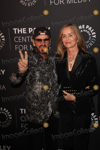 Barbara Bach Photo - Ringo Starr Barbara Bach 10252018 The Paley Honors in Hollywood A Gala Tribute to Music on Television held at the Beverly Wilshire Hotel in Beverly Hills CA Photo by Izumi Hasegawa  HollywoodNewsWireco
