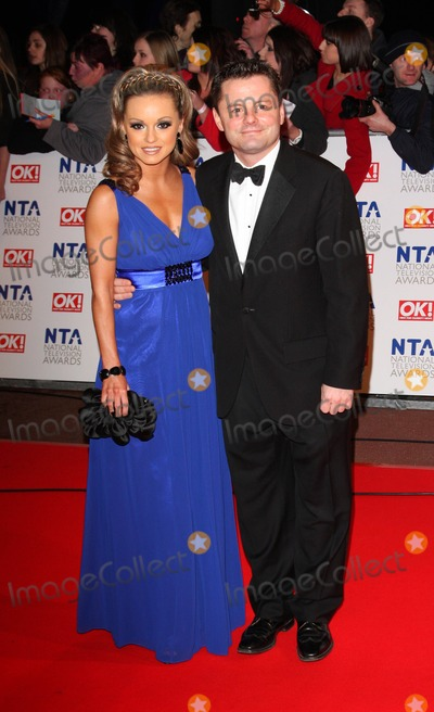 Chris Hollins Photo - London UK Ola Jordan and Chris Hollins    at   the National Television Awards held at the O2 Arena 20th January 2010Keith MayhewLandmark Media