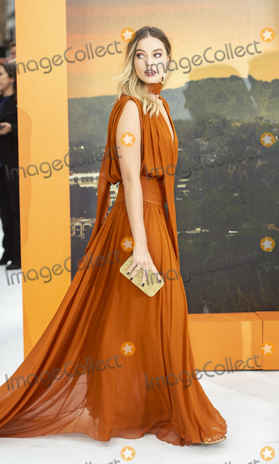 Margot Robbie Photo - London England Margot Robbie at  the UK Premiere of Once Upon a Time in Hollywood Odeon Luxe Leicester Square London England 30th July 2019Ref LMK386-J5279-310719Gary MitchellLandmark MediaWWWLMKMEDIACOM