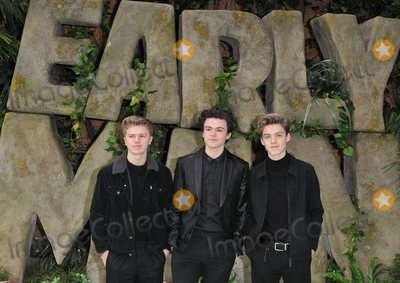 Reece Bibby Photo - London UK New Hope Club ( Reece Bibby Blake Richardson and George Smith ) at the Early Man World Premiere held at BFI IMAX on January 14 2018 in London England Ref LMK392-J1387-150118Vivienne VincentLandmark MediaWWWLMKMEDIACOM