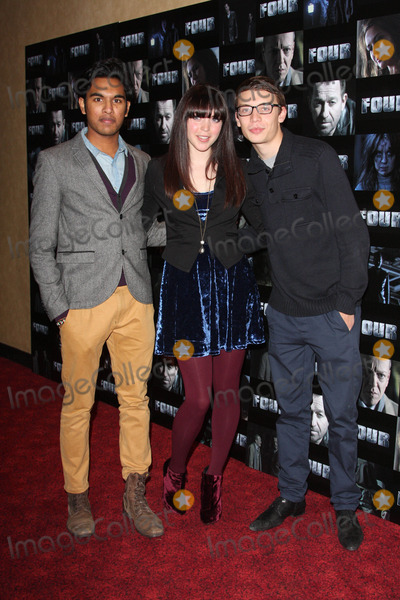 Hamish Patel Photo - London UK Hamish Patel Rachel Bright and Charlie G Hawkins at the UK Premiere of Four at the Empire Leicester Square 10th October 2011Keith MayhewLandmark Media
