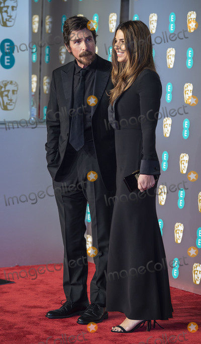 Sibi Blazic Photo - London UK Christian Bale and Sibi Blazic  at EE British Academy Film Awards at the Royal Albert Hall Kensington London on Sunday February 10th 2019Ref LMK386-S2120-110219Gary MitchellLandmark Media WWWLMKMEDIACOM