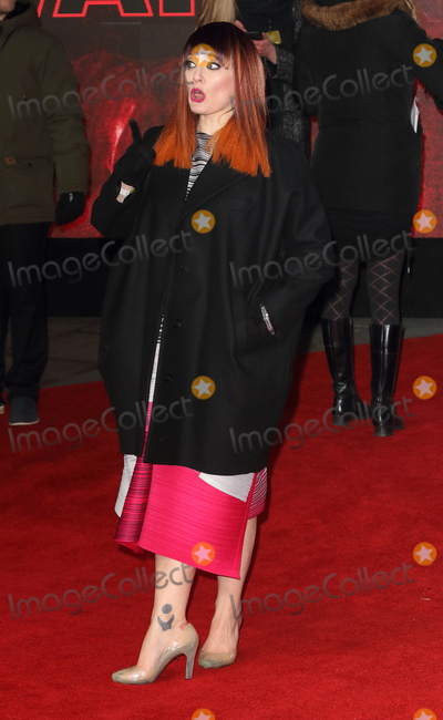 Ana Matronic Photo - London UK Ana Matronic at Star Wars Episode VIII The Last Jedi European Premiere at the Royal Albert Hall Kensington Gore London on Tuesday 12 December 2017Ref LMK73-J1294-131217Keith MayhewLandmark MediaWWWLMKMEDIACOM