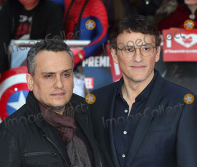 Anthony Russo Photo - London UK Anthony Russo and Joe Russo at Captain America Civil War UK Premiere at the Vue Westfield Shopping Centre London on April 26th 2016Ref LMK73-60233-270416Keith MayhewLandmark Media WWWLMKMEDIACOM