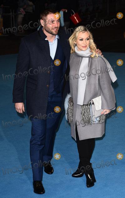 Kristina Rihanoff Photo - London UK Ben Cohen and Kristina Rihanoff  at Eddie The Eagle - European film premiere at the Odeon Leicester Square London on March 17th 2016  Ref LMK392 -60098-180316Vivienne VincentLandmark Media WWWLMKMEDIACOM