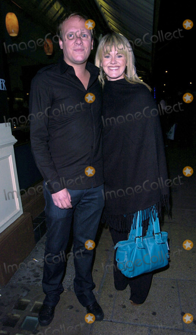 Anthony Cotton Photo - London UK Anthony Cotton with  Sally Lindsay  at Kate Fords  engagement party Century Club 5th May 2007 Can NguyenLandmark Media