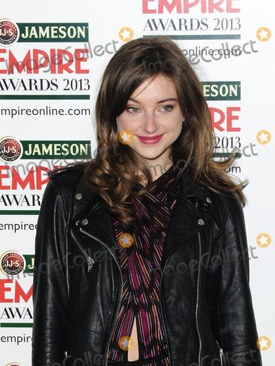 Antonia Clark Photo - London UK Antonia Clarke at the Jameson Empire Film Awards Grosvenor House London 24th March 2013SydLandmark Media