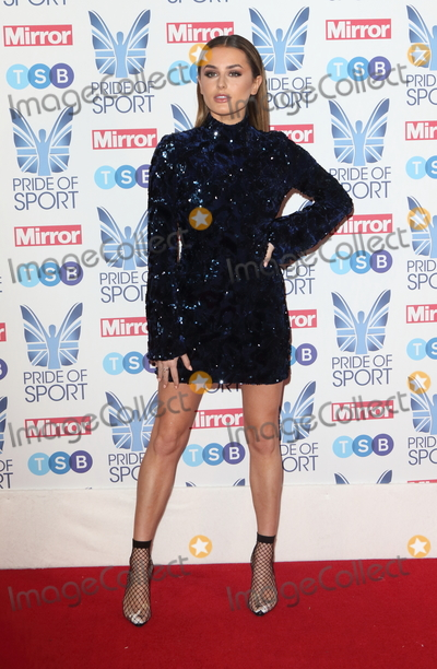 Amber Davies Photo - London UK  Amber Davies at The Mirror Pride of Sport Awards at Grosvenor House Park Lane London on Thursday 06 December 2018Ref LMK73-J4001-071218Keith MayhewLandmark MediaWWWLMKMEDIACOM