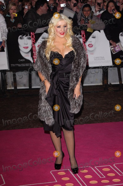 Christina Aguilera Photo - London UK  131210Christina Aguilera at the UK Gala Premiere of the film Burlesque at the Empire Cinema Leicester Square13 December 2010Keith MayhewLandmark Media