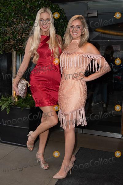 Hayley Palmer Photo - London UK Hayley Palmer and Larissa Eddie at KISS Nails and Lashes x Billie Faiers - launch party at The Marylebone Hotel in London Thursday 16th August 2018Ref LMK73-J2504-170818Keith MayhewLandmark MediaWWWLMKMEDIACOM