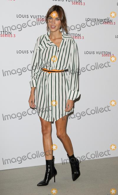Alexa Chung Photo - London UK Alexa Chung at London Fashion Week - Louis Vuitton series 3 Exhibition Launch Party London on September 20th 2015Ref LMK73-58281-210915Keith MayhewLandmark Media WWWLMKMEDIACOM