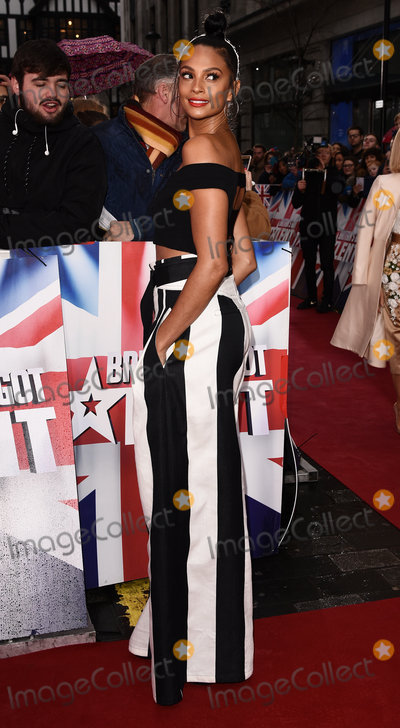 Alesha Dixon Photo - London UK Alesha Dixon at Britains Got Talent photocall held at The London Palladium Argyll Street London on Sunday 29 January 2017Ref LMK392-62709-290117Vivienne VincentLandmark Media WWWLMKMEDIACOM