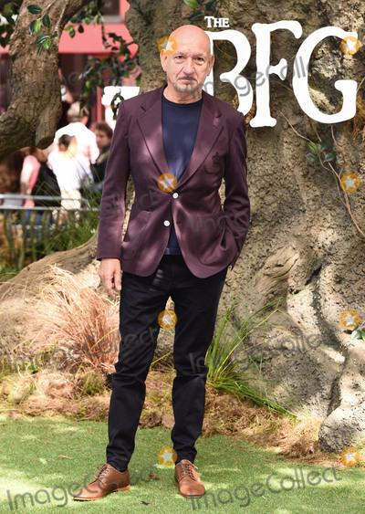 Ben Kingsley Photo - London UK Sir Ben Kingsley at The BFG Premiere held at Leicester Square Gardens Leicester Square London on Sunday 17 July 2016Ref LMK392 -60374-180716Vivienne VincentLandmark Media WWWLMKMEDIACOM
