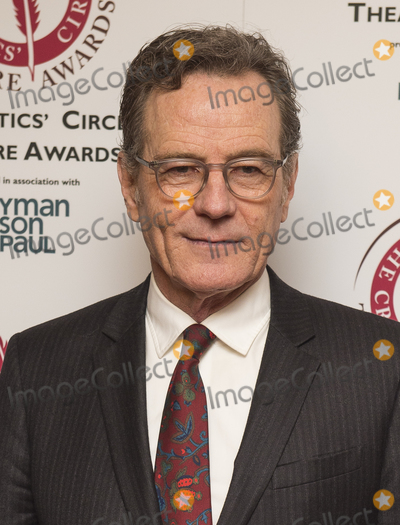 Bryan Cranston Photo - London UK Bryan Cranston attends the Critics Circle Theatre Awards Prince of Wales Theatre London UK - 30 Jan 2018Ref LMK386-J1480-310118Gary MitchellLandmark MediaWWWLMKMEDIACOM