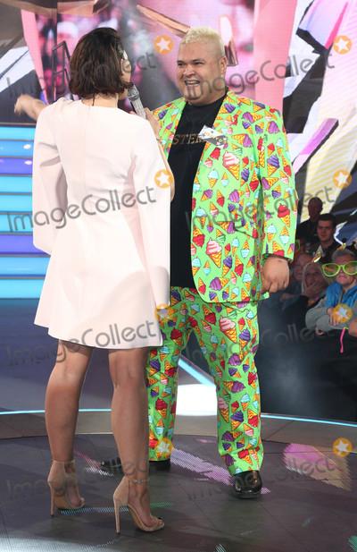 Heavy D Photo - Hertfordshire UK Emma Willis and Heavy D at Celebrity Big Brother Live Launch Night at Elstree Studios Hertfordshire on July 28th 2016Ref LMK73-60918-290730Keith MayhewLandmark MediaWWWLMKMEDIACOM