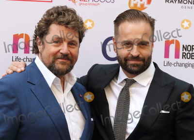 Michael Ball Photo - London UK Michael Ball and Alfie Boe at the Nordoff Robbins Silver Clef Awards at the Grosvenor House Hotel Park Lane London 6th July 2018 Ref LMK73-S1530-070718Keith MayhewLandmark Media WWWLMKMEDIACOM