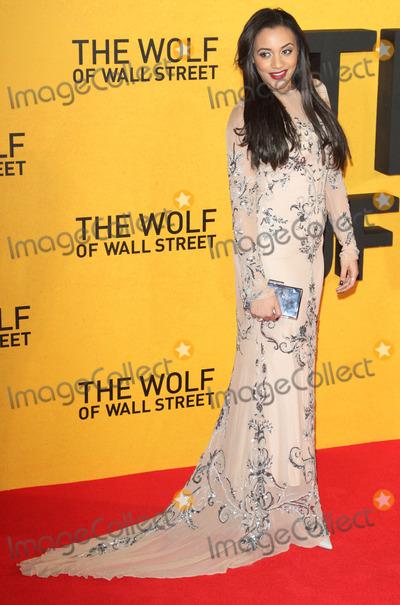 Amal Fashanu Photo - London UK Amal Fashanu at UK Premiere of The Wolf of Wall Street at the Odeon Leicester Square London on January 9th 2014Ref LMK73-46351-100114Keith MayhewLandmark Media WWWLMKMEDIACOM