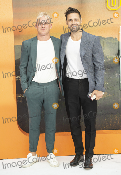Gary Mitchell Photo - London England  Jamie Laing and Spencer Matthews at  the UK Premiere of Once Upon a Time in Hollywood Odeon Luxe Leicester Square London England 30th July 2019Ref LMK386-J5279-310719Gary MitchellLandmark MediaWWWLMKMEDIACOM