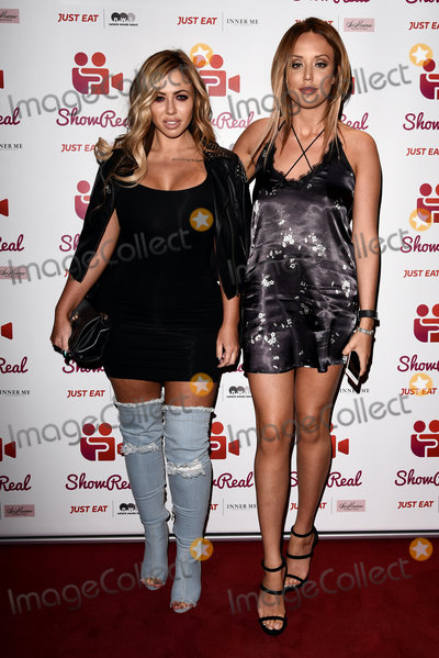 Holly Hagan Photo - London UK Holly Hagan and Charlotte Crosby at ShowReal Launch Party held at DSTRKT Ruoert Street London on Wednesday 2nd November 2016 Ref LMK392-62705-031116Vivienne VincentLandmark Media WWWLMKMEDIACOM