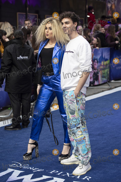 Gary Mitchell Photo - London UK Stevie Ruffs and Tallia Storm at the Onward UK Premiere at The Curzon Mayfair on February 23 2020 in London EnglandRef LMK386-J6267-250220Gary MitchellLandmark MediaWWWLMKMEDIACOM