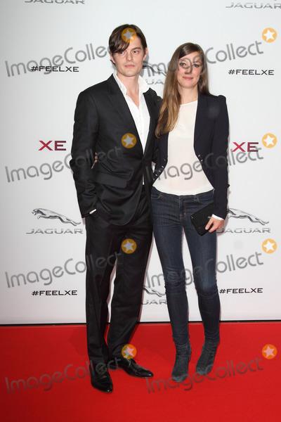 Alexandra Maria Lara Photo - London UK Sam Riley and Alexandra Maria Lara at Jaguar XE Global Launch Party and Show at Earls Court London on September 8th 2014Ref LMK73-49508-090914Keith MayhewLandmark Media WWWLMKMEDIACOM