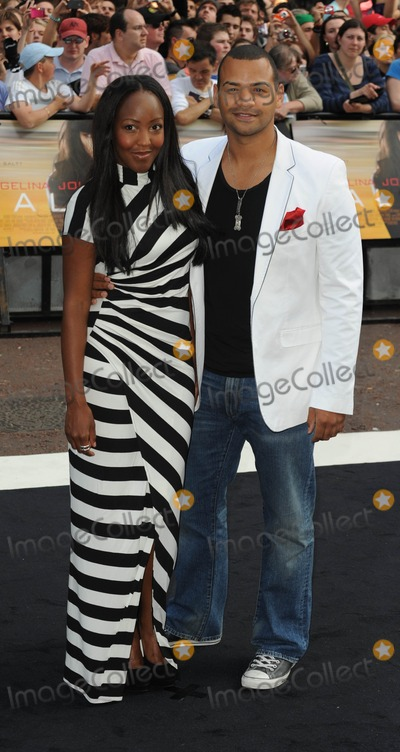 Angellica Bell Photo - London UK Angellica Bell and Michael Underwood  at the UK premiere of the film Salt held at the Empire Cinema in Leicester Square16th  August 2010SYDLandmark Media