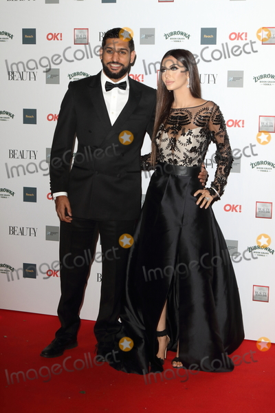 Amir Khan Photo - London UK   Amir Khan and Faryal Makhdoom   at the The Beauty Awards with OK at the Park Plaza Westminster Bridge London on Monday 26 November 2018RefLMK73-S1965-271118Keith MayhewLandmark MediaWWWLMKMEDIACOM