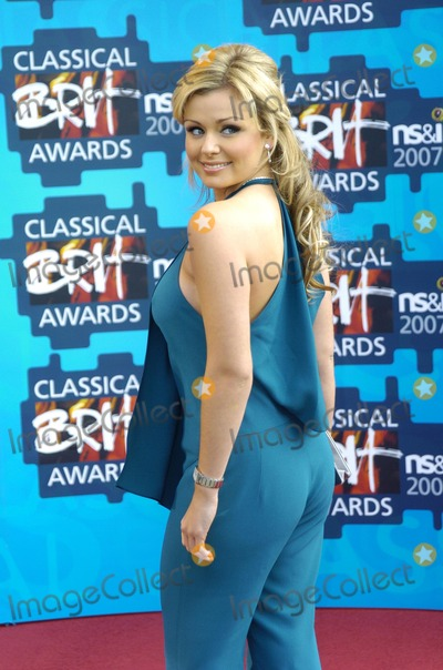 Katherine Jenkins Photo - London UK Katherine Jenkins at the Classical BRIT Awards at the Royal Albert Hall 3rd May 2007 Can NguyenLandmark Media