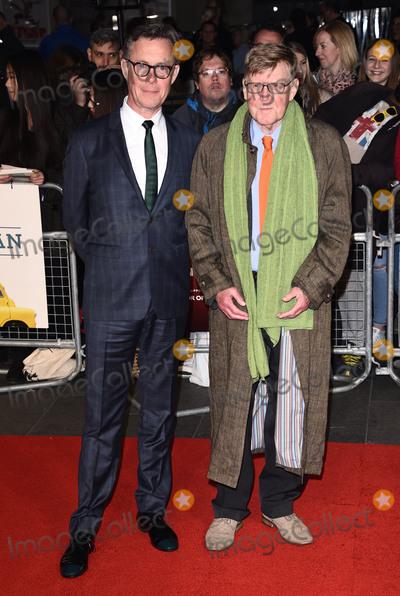 Alex Jennings Photo - London UK Alex Jennings and Alan Bennett   at London Film Festival Premiere of The Lady In The Van at Odeon Leicester Square London on Tuesday 13 October 2015Ref LMK392 -58357-141015Vivienne VincentLandmark Media WWWLMKMEDIACOM