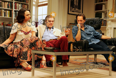 Anthony Head Photo - London UK   Richard E Grant (R) Amanda Ryan (L) and Anthony Head (c)  in Simon Grays award winning comedy Otherwise Engaged at the Criterion Theatre  The play is about a rich  selfish publisher called Simon Hench (Richard E Grant) who has gone home to listen to Parsifal but finds his evening constantly interrupted by various people dropping in 26th October 2005 Keith MayhewLandmark Media